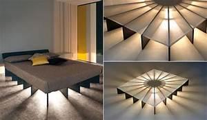Bett Mit Beleuchtung : bett selber bauen f r ein individuelles schlafzimmer ~ Michelbontemps.com Haus und Dekorationen
