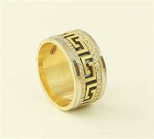 Asmar super extra versace wedding ring for Wedding rings versace