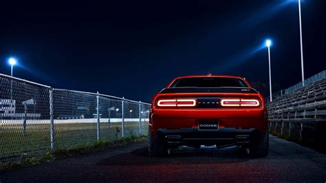 dodge challenger srt demon  wallpaper hd car