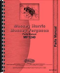 Massey Ferguson 1240 Tractor Parts Manual
