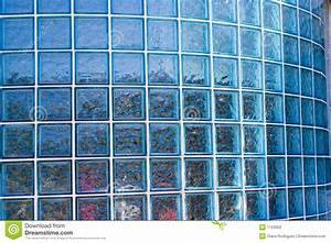 Glass Block Wall stock photo. Image of structure, floor ...