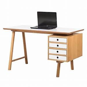 Schreibtisch Weiß Eiche : schreibtisch why wood wei eiche b rotisch arbeitstisch computertisch tisch ebay ~ A.2002-acura-tl-radio.info Haus und Dekorationen