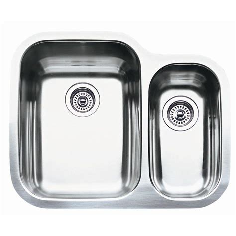 25 stainless steel kitchen sink shop blanco supreme 20 43 in x 25 75 in double basin
