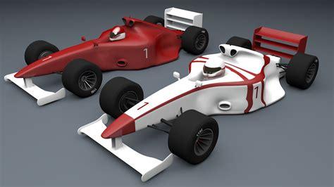 Формула-1: stl и obj 3d модели / Скачать модели для 3d принтера бесплатно