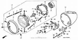 Headlight For 2001 Honda Vt1100
