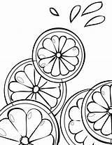 Coloring Fruit Lime Printable Fruits Citrus Lemonade Cranberry Bestcoloringpagesforkids Stand Drawing Template Pattern Tree Sheet Getcolorings Citris Doodle Ink Templates sketch template