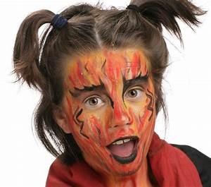 Modele Maquillage Carnaval Facile : diablesse grim 39 tout maquillage l 39 eau pour enfants ~ Melissatoandfro.com Idées de Décoration