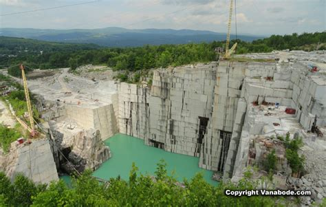 rock of ages vermont granite quarry on road trip