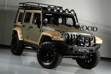 Custom Jeep Wrangler Unlimited By Starwood Motors