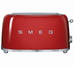 Smeg Toaster Creme : buy smeg tsf02rduk 4 slice toaster red free delivery ~ A.2002-acura-tl-radio.info Haus und Dekorationen