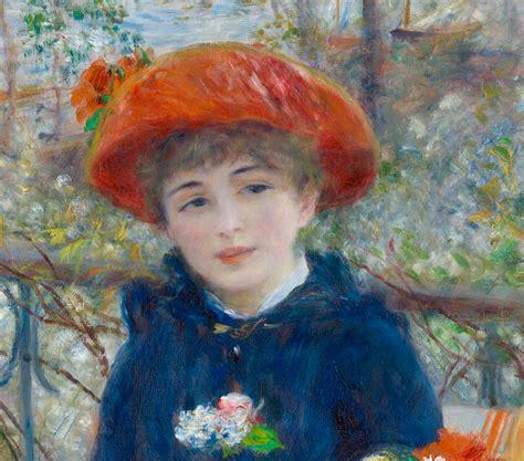 Two Sisters By Pierre Auguste Renoir Galleryintell