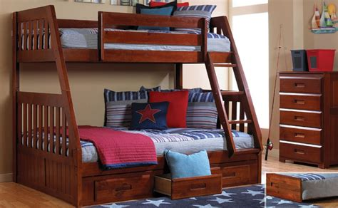 Discovery World Bunk Beds by Discovery World Furniture Merlot Bunk 2818