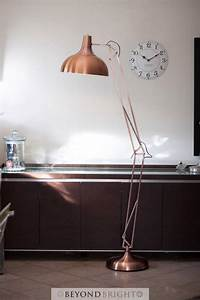 X large designer copper pixar floor lamp light 1 9m modern for Copper pixar floor lamp