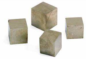 Earth Science/Geology - Pyrite Cubes