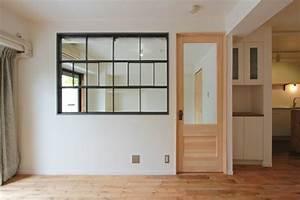 window/窓/室内窓/アイアン/格子/design by フィールドガレージ interior