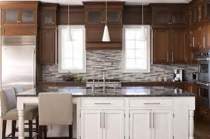 two color kitchen cabinet ideas 2 tone cabinets contemporary kitchen elissa grayer design