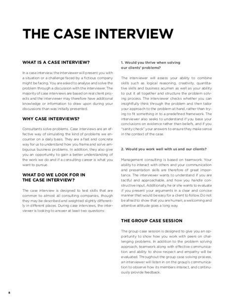 interview case qvartz case interview handbook