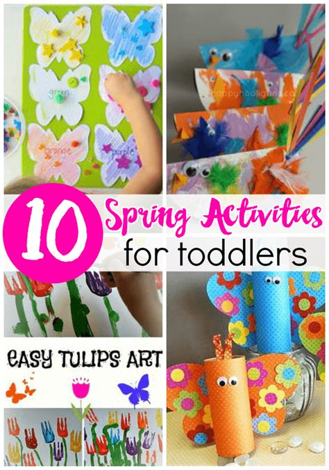 10 activities for toddlers from abcs to acts 337 | Spring crafts and activities that are perfect for toddlers and preschoolers