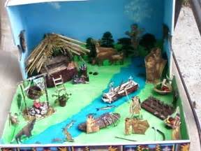 Native American Diorama Shoebox Project