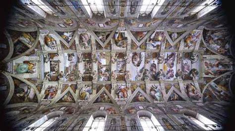 plafond de la chapelle sixtine pourquoi michel ange a t il peint le plafond de la chapelle sixtine