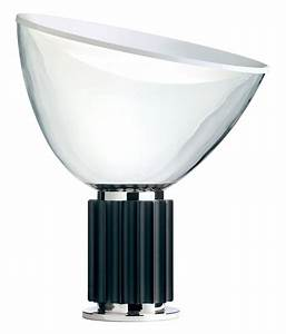 taccia table lamp led black body by flos With d e light table lamp by flos