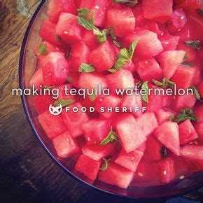 tequila + watermelon = pure awesomeness — THE FOOD SHERIFF ...
