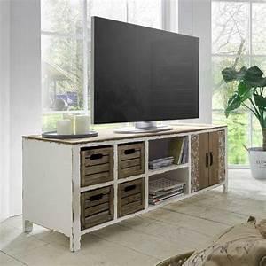 Lowboard Shabby Chic : shabby wohnzimmer fernseher ~ Sanjose-hotels-ca.com Haus und Dekorationen