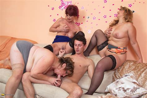 Mature Group Sex 3 And 1