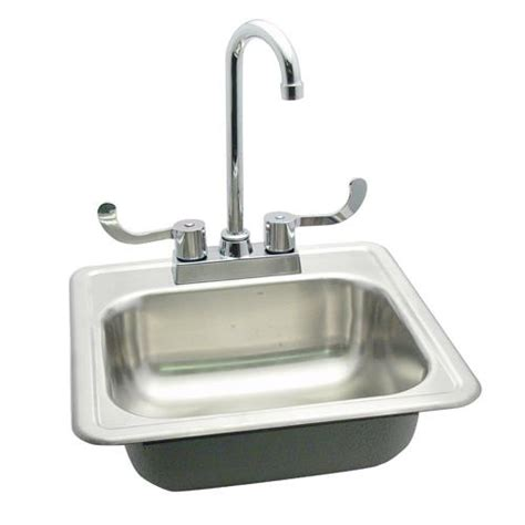drop in hand sink commercial 15 quot drop in hand sink w faucet etundra