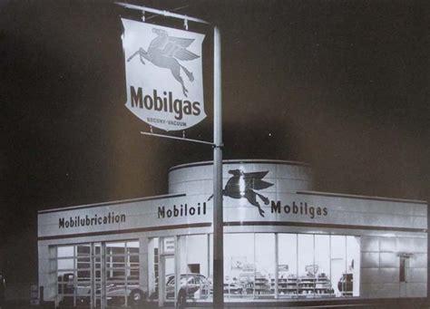 frederick frost designed gas station  mobil