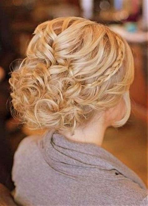 image result  updos  medium length curly hair