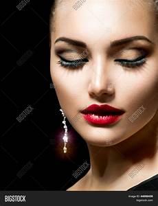 Beauty Woman Perfect Makeup. Image & Photo | Bigstock