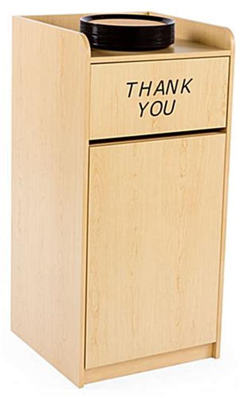 restaurant trash can cabinet restaurant trash cabinet maple melamine finish