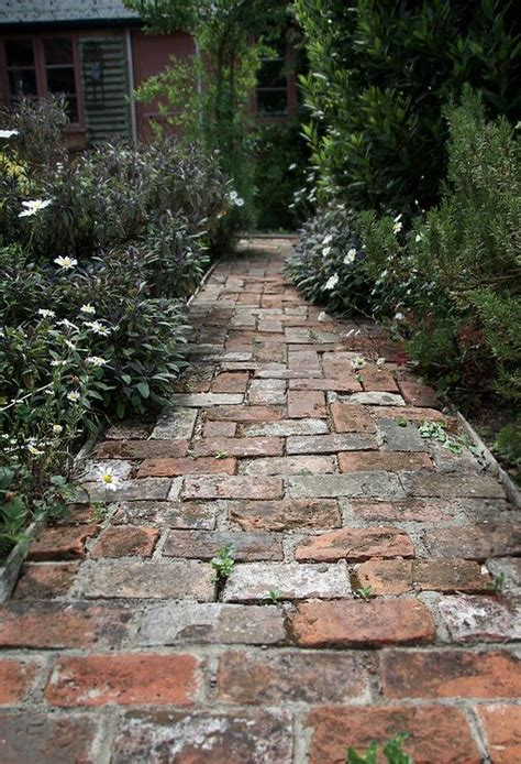 garden paths and patios 25 best ideas about old bricks on pinterest brick path rustic pathways and brick pathway