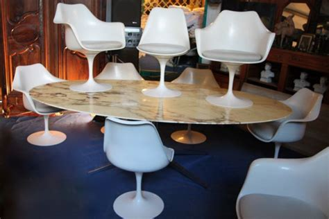chaise tulipe a vendre ensemble salle à manger grande table florence knoll