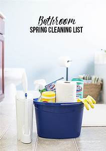 bathroom spring cleaning list these tips are a must With spring clean bathroom
