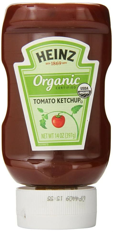 Heinz Organic Tomato Ketchup, 14 oz. - Whole And Natural