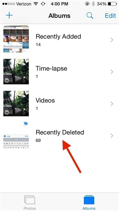 iphone deleted photos how to recover deleted photos from your iphone or