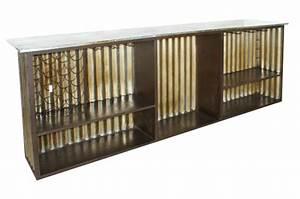Bar Style Industriel : comptoir en fer style industriel de francisco segarra ~ Teatrodelosmanantiales.com Idées de Décoration