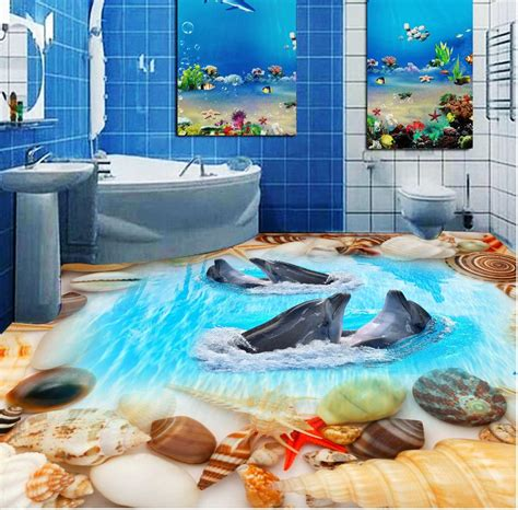 3d Epoxy Wallpapers by 3d Flooring Wallpaper Custom Waterproof 3d Pvc Flooring 3d