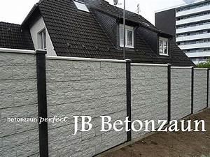 Zaun Aus Beton : betonzaun sichtschutzzaun sichtschutz betonz une zaun ~ A.2002-acura-tl-radio.info Haus und Dekorationen