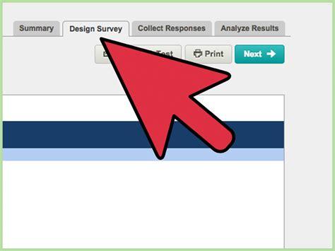how to create an survey with surveymonkey 12 steps