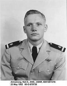 Ensign Neil Armstrong, US Navy Reserve, 23 May ...