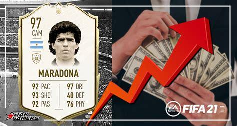 I promised myself i will obtain maradona this year. Tras el fallecimiento de Maradona, se dispara su precio ...