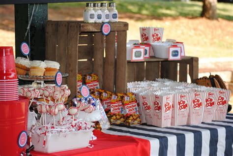 Baseball Party Concessions!  B Lovely Events