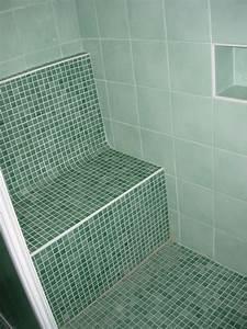 Bac De Douche à L Italienne : banc relaxant en wedi habill de mosa que bisazza dans ~ Premium-room.com Idées de Décoration