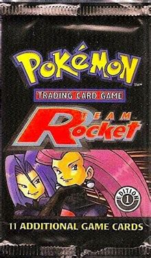team rocket booster pack st edition team rocket pokemon  gaming store  cards
