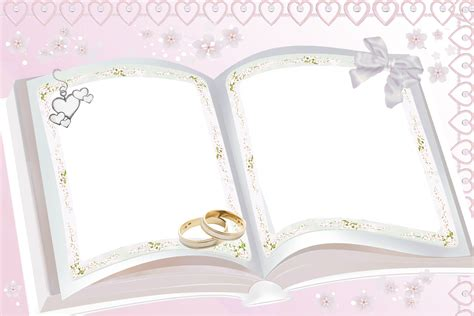transparent pink wedding frame wedding frames pink