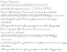 Palmer Method Handwriting  Vintage Pen And Paper  Pinterest  Handwriting And Penmanship