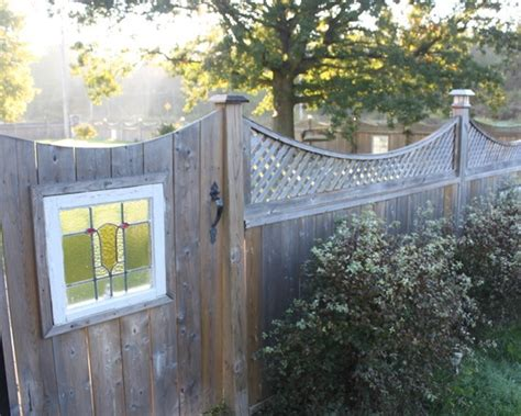 17 Best Images About Stained Glass Fences & Gates On Pinterest